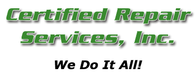 Certified Repair Services, Inc.